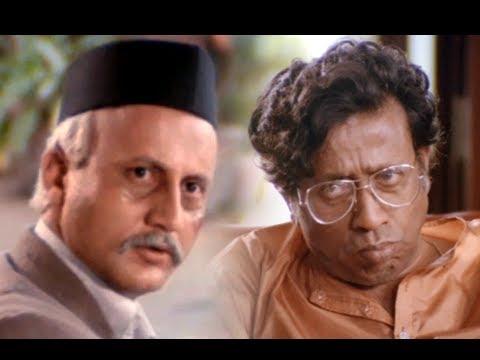 Anupan Kher & Nilu Phule In Superhit Scene - Saaransh