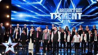 The Missing People Choir Get Their Message Across   Auditions Week 1   Britain   S Got Talent 2017