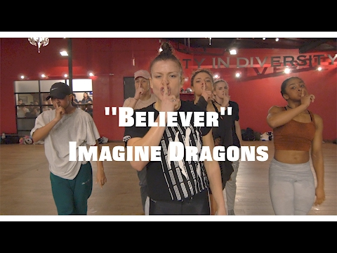 Video Believer - Imagine Dragons - by Janelle Ginestra download in MP3, 3GP, MP4, WEBM, AVI, FLV January 2017