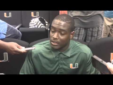 Tyriq McCord Interview 8/26/2013 video.
