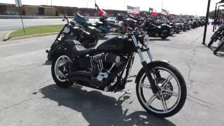 8. 040041 - 2012 Harley Davidson Softail Blackline FXS - Used Motorcycle For Sale