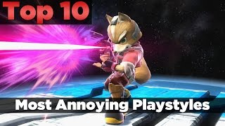 Video Top 10 | Most Annoying Playstyles - Smash 4 download in MP3, 3GP, MP4, WEBM, AVI, FLV January 2017