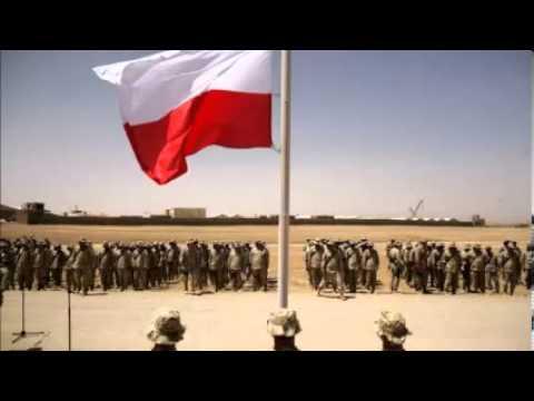 Tekst piosenki Patriotyczne - Jedzie na kasztance po polsku
