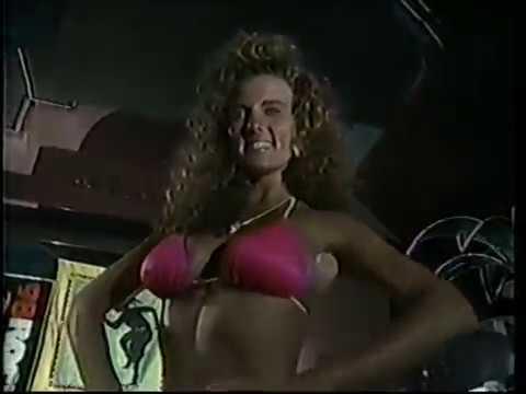 Scott Ledger Hosting the 1990 Caribbean Gold Bikini Contest