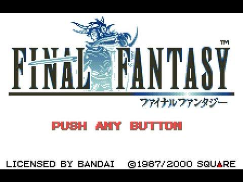 WonderSwan Color Longplay [002] Final Fantasy (Part 1 of 4)