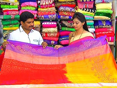 Designer Pattu and Fancy Sarees | Sogasu Chuda Tarama | Vanitha TV 28 September 2015 12 17 PM
