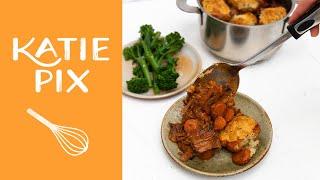 One Pot Beef Stew & Rosemary Dumplings Recipe | Katie Pix by Katie Pix