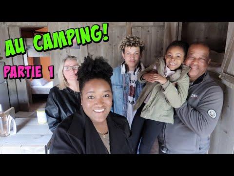 WEEKEND CAMPING EN FAMILLE , ROOM TOUR Domaine La Yole - Partie 1 vlog