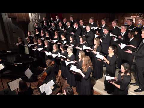 The Singers - The Water is Wide - arr. René Clausen