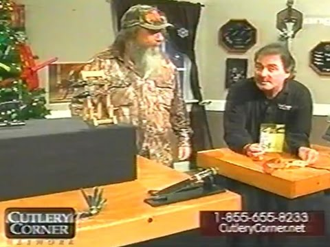 Cutlery Corner 12/14/2013 Ft. Mountain Man -vhs Classics Episode 1