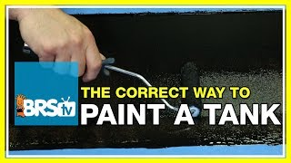 What do you recommend to paint the back of the aquarium? | 52 FAQ