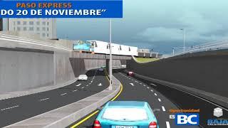 Muro duplicará capacidad del Nodo Exprés 20 de Noviembre Sidue