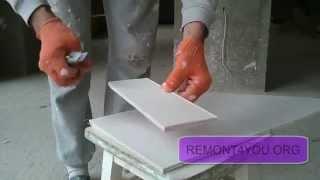 Как резать магнезитовую плиту