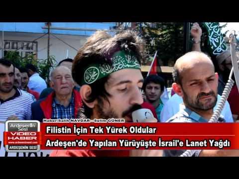 Filistin'için Sende Sesini Yükselt