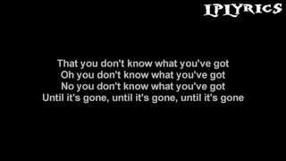 Linkin Park - Until It's Gone [Lyrics on screen] HD