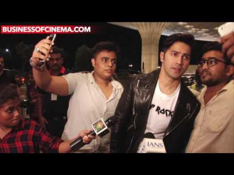 UNCUT: Varun Dhawan And Karan Johar Spotted Leavin