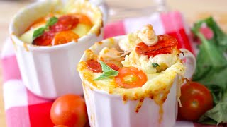 How to Make Microwave Pizza Mugs by POPSUGAR Food