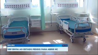 Bauru: USP pede ao Estado para abrir Hospital das Clínicas