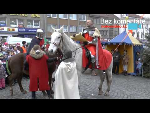 Adventní pátek 4. 12. 2015 na Masarykově náměstí v Boskovicích