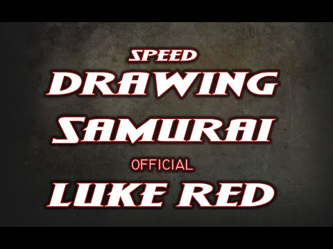 *Speed Drawing Samurai Morris by  Luke Red Tattoo*