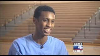 "HS Senior Hafid Yassin's Dunk goes viral, News Story ""It changed my life"""