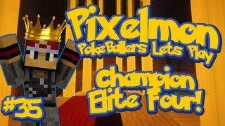 Pixelmon Server Minecraft Pokemon Mod Pokeballers Lets Play! Season Finale Champion Battle Ep 35