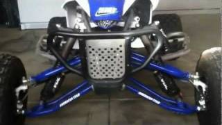 9. Yamaha YFZ 450r race ready walk around. Redneck Engineering at its finest