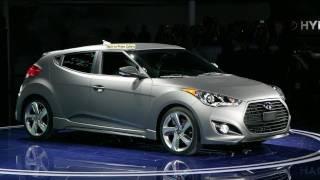 2013 Hyundai Veloster Turbo: 2012 Detroit