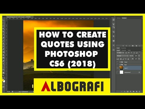 Good quotes - HOW TO CREATE GOOD LOOKING QUOTES USING PHOTOSHOP CS6 (2018)