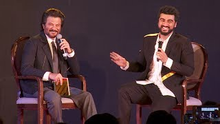 Arjun Kapoor & Anil Kapoor FUNNY Moments during the promotion of their film Mubarakan.For More Updates:Subscribe to: https://www.youtube.com/user/movietalkiesLike us on: https://www.facebook.com/MovieTalkiesFollow us on: https://twitter.com/MovieTalkiesFollow us on: https://www.instagram.com/movietalkies/