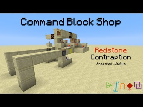 how to get a cormand block in mincraft