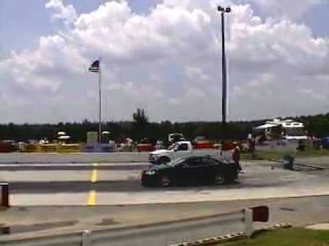 13 second Ford F150 4.6L with 150-shot Nitrous at NOPI Nationals