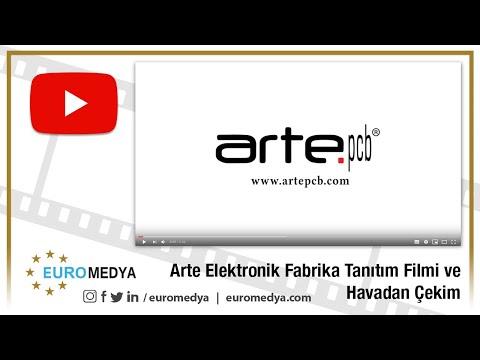 Arte Pcb Firma Tanıtım Filmi ve Havadan Çekim