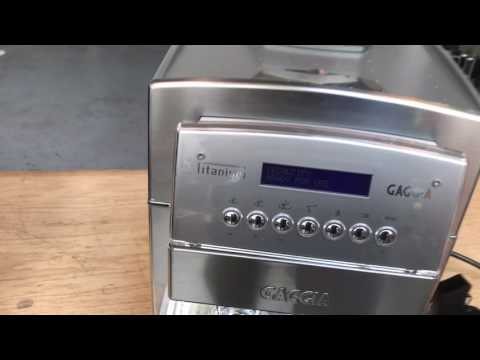 Gaggia Titanium Test After Grinder Replacement #1131