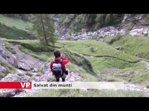 Salvat din munți