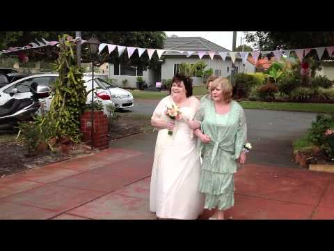 Heather Simmons and Richard Hill - ARE MARRIED - April 21, 2012 - Perth, Australia