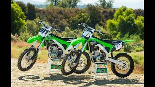 4. Racer X Films: 2018 KX250F and KX450F
