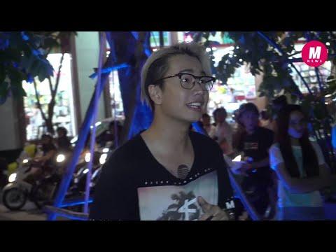 Lou Hoàng ra phố đi bộ hát theo lời thách thức của Only C - Thời lượng: 113 giây.
