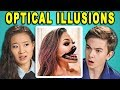 Download Video 10 MIND BLOWING OPTICAL ILLUSIONS #3 with TEENS & COLLEGE KIDS (React)