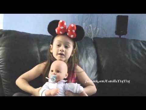 Camilla ThyThy Bị cô phạt làm bài tập và nói giọng Huế với mẹ