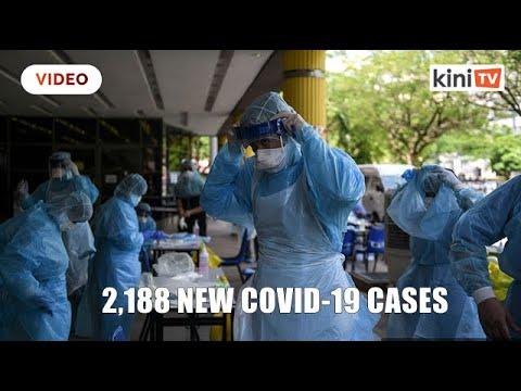 Malaysia records 2,188 new Covid 19 cases