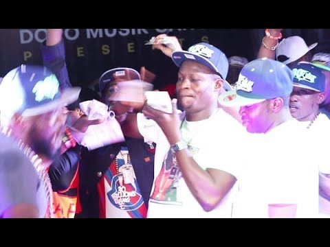 Too Much Money! See How Kunle Poly,shower Money On Bobby Jazx While Performing
