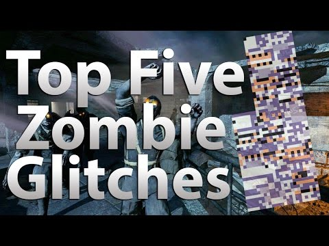 'TOP 5' Glitches in 'Call of Duty Zombies' -