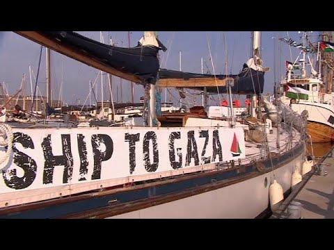 Gaza-Flottille will Blockade brechen, um Palästinenser  ...