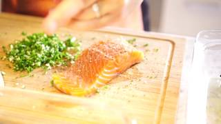 Salmon Di Mare is a baked salmon dish made in under an hour. Can't beat that. Subscribe for more episodes! ^^ Follow us: ...