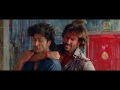 Raja vs Vidut - Fight Scene - Bullett Raja (2013) Fight Scene - Saif Ali Khan, Ravi Kishan