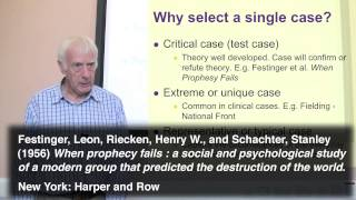 Replication Or Single Cases. Part 3 Of 3 On Case Studies