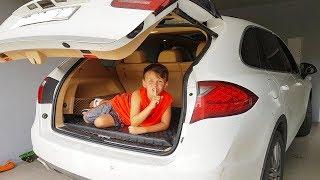 En Komik Saklambaç - Ali hide and seek car trunk!!!