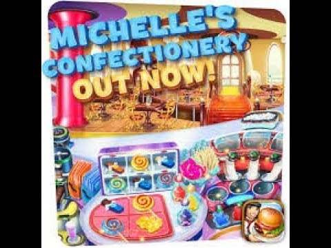 Cooking Fever Michelle's Confectionery Level 21-30 Fully Upgraded 3 Stars With NO Automatic Machine