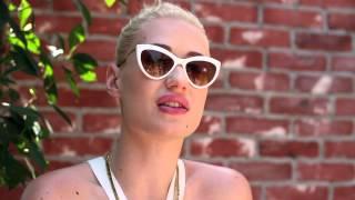 "Iggy Azalea Talks ""Striptease"""
